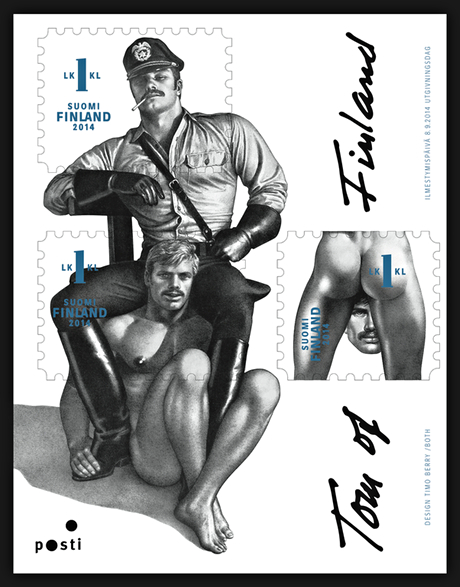 Tom of Finland Homoerotic Stamps