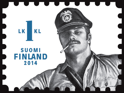unfranked stamp #1 | Tom of Finland Homoerotic Stamps