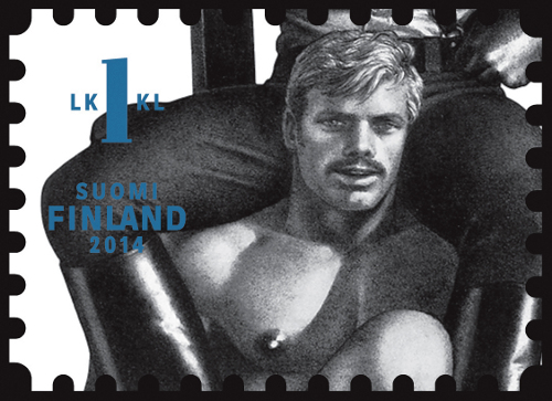 unfranked stamp #2 | Tom of Finland Homoerotic Stamps
