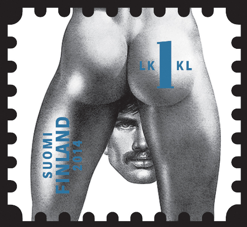 unfranked stamp #3 | Tom of Finland Homoerotic Stamps