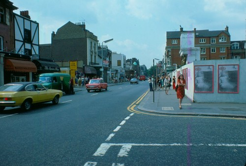 Corner of Markham Street 1976 - London - Kings Road, Chelsea