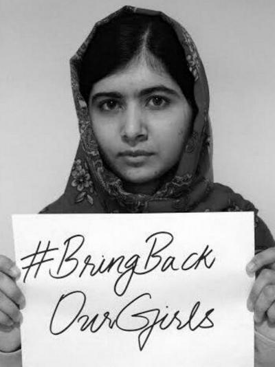 Malala Yousafzai #BringBackOurGirls