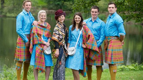 The Glasgow 2014 Commonwealth Games - Team Scotland's Parade Uniforms by Jilli Blackwood
