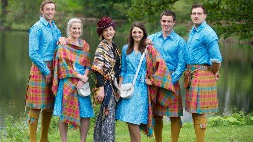 The Glasgow 2014 Commonwealth Games - Team Scotland's Parade Uniforms by Jilli Blackwood