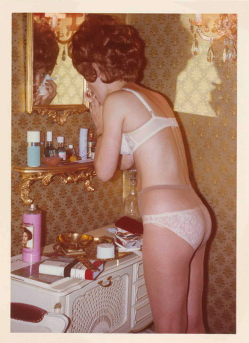 margret at the mirror