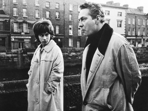 Rita Tushingham with Peter Finch in Girl With Green Eyes (1964)