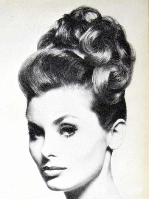 Hairstyle by Andre Bernard 1962