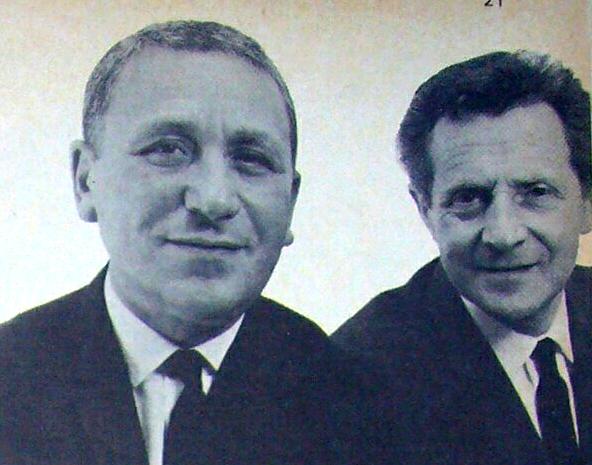 André Mizelas and Bernard Greenford Hairdressers Journal 5 Aug 1966
