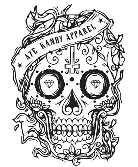 The Aye Kandy Apparel™ Logo