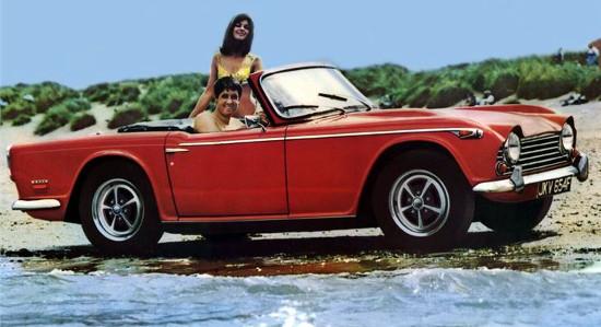 1967-1968 Signal Red Triumph TR5