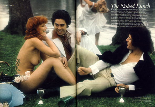 Jim Lee: The naked lunch - Cosmopolitan, June 1974. Nicole Garré