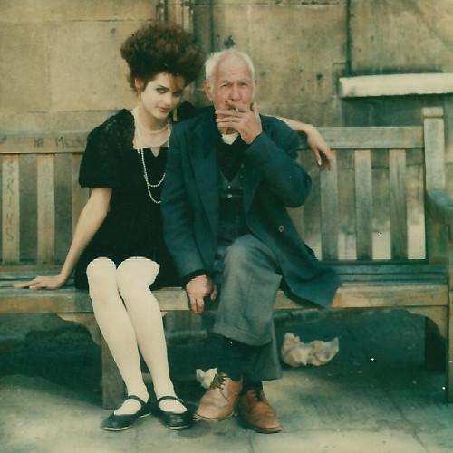 Persephone old boy. Photographer: Chris Roberts. Model: Persephone. Hair: Ian (me). Makeup: Arianne. Bath 15:08:1981. Test Session Polaroid.