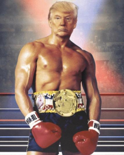 Save America - Donald 'Rocky Balboa' Trump